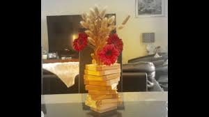 recycle wooden block flower vase diy home decor kids craft