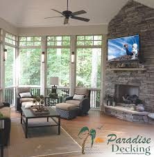 Outdoor Fireplace Prices by Paradise Decking And Outdoor Living Building A New Deck