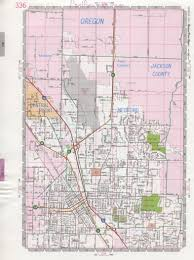 Highway Map Of Arizona by Central Point Road Map