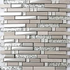 Glass Stone Tiles - Glass stone backsplash