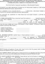 free georgia residential lease agreement pdf word doc lease