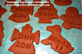 cinnamon applesauce ornament recipe recipes for our daily
