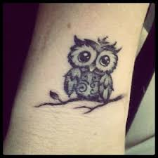 small owl tattoos owl ideas