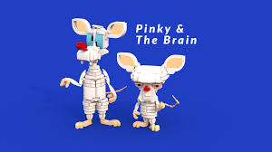 pinky and the brain lego ideas pinky and the brain