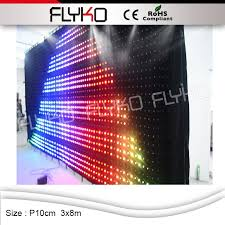 Curtain Led Display Curtain Led Display Rooms