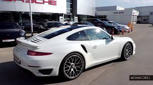 porsche carrera 911 turbo new 2014 porsche 911 991 turbo s white youtube