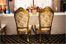 Indian Wedding Chairs For Bride And Groom Fun Festive Fabulous Indian American Wedding Houston Wedding Blog