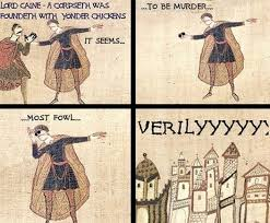 Put On Sunglasses Meme - anachronistic memes the best of the bayeux tapestry mental floss