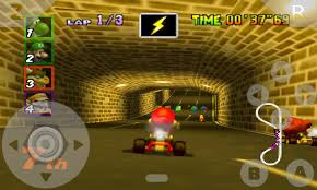 nintendo emulator android nintendo 64 emulator brings mario kart to your android phone