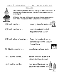 comparing castles by rivka27 teaching resources tes