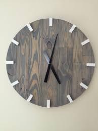 large wood wall 13 best images on wall clocks handmade clocks