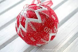 quilted ornaments quilted ornaments quilt balls