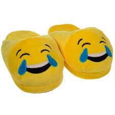 house emoji emoji house slippers funny soft plush for adults kids teens bedroom