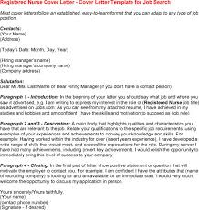 graduate nurse cover letter inside cover letter rn my document blog