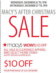 macy s after sale 10 today and tomorrow the