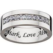 Personalized Engraved Rings Engraved Rings