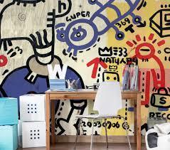 eye popping wall murals for teenage boys and girls eazywallz grafitti sprayed on a wall wall mural