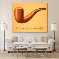 Peinture Moderne Pour Salon by Online Get Cheap Magritte Peintures Aliexpress Com Alibaba Group