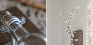 Hanging Glass Wall Vase How To Make Wine Bottle Wall Vase Diy U0026 Crafts Handimania
