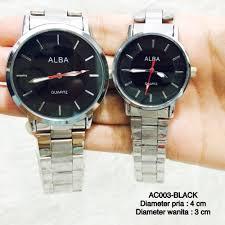 Jam Tangan Alba Pasangan jam tangan alba pasangan jual jam tangan alba all black baru jam