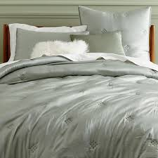 Silk Comforters Washed Silk Quilt Shams West Elm