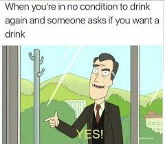 dopl3r com memes when youre in no condition to drink again and