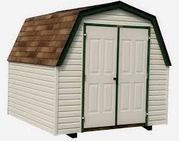 vinyl siding barn style 4 u0027 sidewall sheds sheds by siding