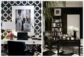 Amazing Black And White fice Decor Black And White Home fice