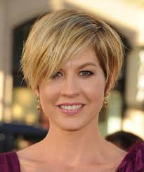 pictures of short hairstyles for fat faces and double chins