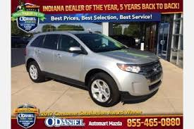 ford fort wayne used ford edge for sale in fort wayne in edmunds