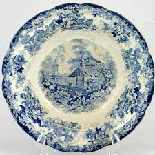 Kitchen Collectibles Genevese Opaque China Blue White Pottery Bowl Charles Meigh