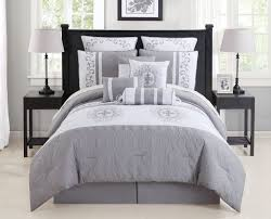 Black And White Queen Bed Set Bedroom Comforter Sets Queen Black And Whiteding Shabby Chic White