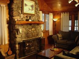 kitchen log cabin kitchens rustic designs living room home lake rest cabins additionally the cabin features a full kitchen large dining room two bathrooms and living