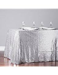 silver tablecloths kitchen table linens home