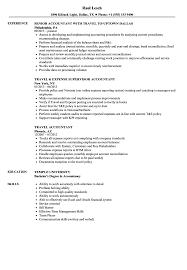 effective resume exles travel accountant resume sles velvet