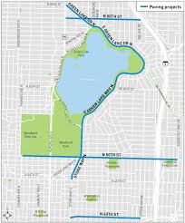 seattle map green lake green lake area paving safety projects transportation