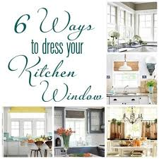 Kitchen Window Covering Ideas Window Treatments For Kitchens Latest Saveemail With Window