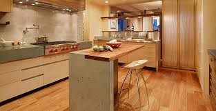 island in a kitchen kitchen concrete countertop gallery cheng concrete exchange