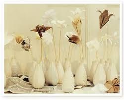 Ikea Vases Wedding Origami Meets Ikea Origami Sticks In Ikea Farm Vases Wedding