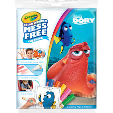 crayola color wonder mess free coloring pages finding dory