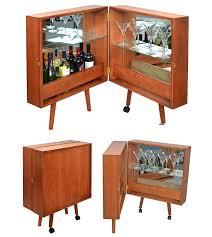 kommoden 50er jahre amazon de hausbar cocktailbar barschrank braun barkommode im stil