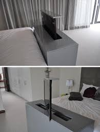 Bedroom Setup With Tv 7 Ideas For Hiding A Tv In A Bedroom The Tv Built Into The Foot