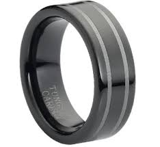 manly wedding bands stylish and modern tungsten wedding bands for grooms weddingomania