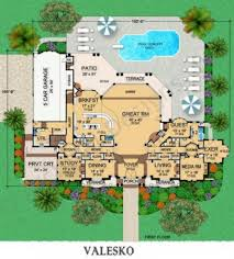 Floor Plan Of A Mansion by Valesko Mansion Floor Plan House Plan Designer