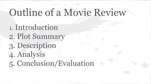 How to write a good application movie review