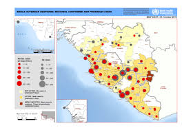 africa map 2014 west africa ebola outbreak response regional confirmed and