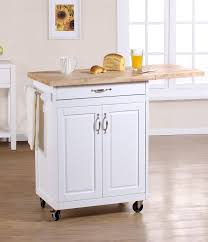 Folding Kitchen Island Cart Kitchen Island With Folding Leaf Pinkotine Com