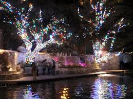 downtown san antonio christmas lights ford holiday river parade lighting ceremony paint your landscape