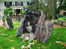76 best halloween outdoor decorations images on pinterest