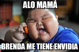Brenda Memes - alo mam磧 asian fat kid meme on memegen